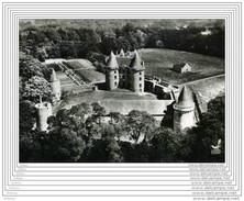 CPSM  En Avion Au-dessus De...EPINIAC - Château De Landal - Non Classés