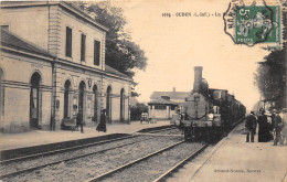 44-OUDON- LA GARE - Oudon