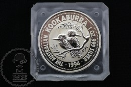 Australia 1994 Kookaburra Silver Dollar Coin 1 OZ  .999 - 1 Dollar - Elizabeth II - Australia