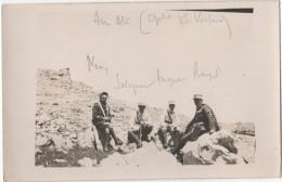 Carte Photo Militaria Légion Etrangère LIBAN ? SYRIE ? Avion  Annotations à Déchiffrer - Libanon