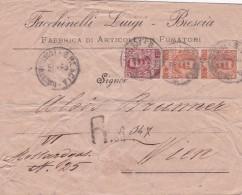 ITALIE 1902 LETTRE DE BRESCIA - Storia Postale