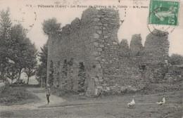 PELUSSIN -42- LES RUINES DU CHATEAU DE LA VALETTE - Pelussin