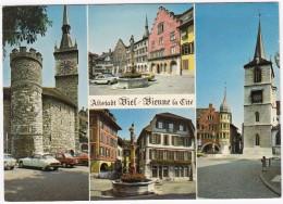 Bienne: CITROËN DS , OPEL MANTA-A - Alstadt Biel / Bienne La Cité  - (Suisse/Schweiz/CH) - Passenger Cars