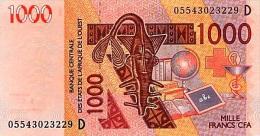 West African States - Afrique De L´ouest Mali 2005 Billet 1000 Francs Pick 415 C Neuf 1er Choix UNC - Mali