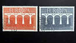 Spanien 2633/4 Oo/used, EUROPA/CEPT 1984, 25 J. Europ. Konf. D. Verw. Für Das Post- Und Fernmeldewesen (CEPT) - 1931-Heute: 2. Rep. - ... Juan Carlos I