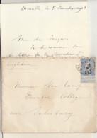 EAC N°60 O. Bruxelles -> Salisbury Angleterre 1903 - 1893-1900 Thin Beard