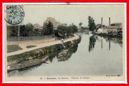 80 - AMIENS -- La Somme - Chemin De Halage - Amiens