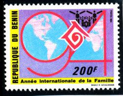 Bénin 1994  (Journée Mondiale De La Famille - 200F )  Luxe **    TRES RARE - Bénin – Dahomey (1960-...)