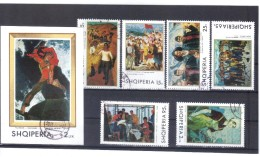 KUR06  ALBANIEN 1970  MICHL 1442/47 + BLOCK  39  Used / Gestempelt SIEHE ABBILDUNG - Albania