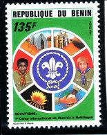 Bénin  1994  (Scoutisme - 1°Camp Internationale Au Bénin - 125F)  Luxe **   TRES RARE - Benin – Dahomey (1960-...)