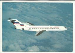 AVIATION . BOEING 727 228 ( F GCMX ) EN PLEIN VOL COMPAGNIE AIR CHARTER FILIALE D AIR FRANCE - 1946-....: Moderne