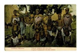 18207 - Laurenço Marques - Creanças Indigenas Com Suas Mäes - A Group Of Piccaninnies With Their Mothers - Mozambique