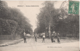 94  Coeuilly Avenue  Ambroisine - France
