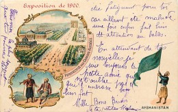 Pays Div -afghanistan - Ref G82- Exposition Universelle De 1900- Afghanistan - Carte Bon Etat - - Afghanistan