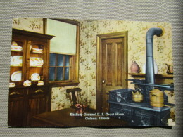 Galena, Illinois. Kitchen General U. S. Grant Home - Etats-Unis