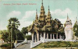 Pays Div -mynamar -burma -birmanie  - Ref G78- Rangoon  - Carte  Bon Etat - Postcard In Good Condition - - Myanmar (Burma)