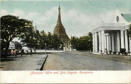 Pays Div -mynamar -burma -birmanie  - Ref G77- Rangoon  - Carte  Bon Etat - Postcard In Good Condition - - Myanmar (Burma)
