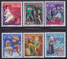 4862. Luxembourg 1965 Charity - Caritas, MNH (**) Michel 717-722 - Luxembourg