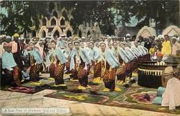 Pays Div -mynamar -burma -birmanie  - Ref G71- A Yein Pwe - Carte  Bon Etat - Postcard In Good Condition - - Myanmar (Burma)