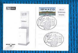 Germany  Postcard - Automatenmarken 24.04.98 - Automatenmarken