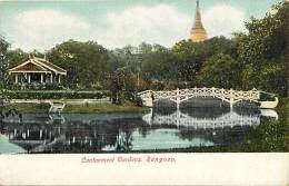 Pays Div -mynamar -burma -birmanie  - Ref G70- Rangoon  - Carte  Bon Etat - Postcard In Good Condition - - Myanmar (Burma)