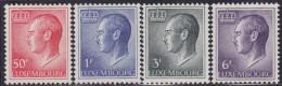 4863. Luxembourg 1965 Definitive - Grand Duke Jean, MNH (**) Michel 710-713 - Luxembourg