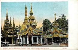 Pays Div -mynamar -burma -birmanie  - Ref G65 - Rangoon  - Carte  Bon Etat - Postcard In Good Condition - - Myanmar (Burma)