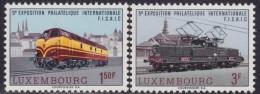 4865. Luxembourg 1966 FISAIC Philatelic Exhibition, MNH (**) Michel 735-736 - Luxembourg