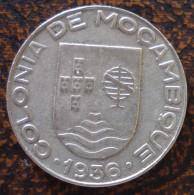 (J) MOZAMBIQUE: Escudo 1936 XF+ (811)  WOOOOW!!!! - Mozambique