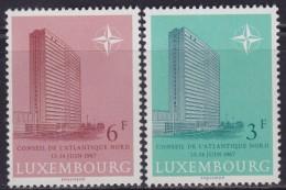 4870. Luxembourg 1967 North Atlantic Treaty Organisation (NATO), MNH (**) Michel 751-752 - Luxembourg