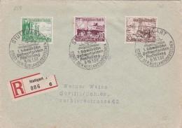 ALLEMAGNE  LETTRE RECOMMANDEE SANS CACHET ARRIVEE DE STUTTGART 1938 - Germany