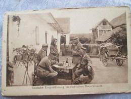 DEUTSCHE EINQUARTIERUNG IM SERBISCHEN BAUERNHAUSE - Serbia