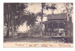 CAMBODGE / KAMBODSCHA - Type D´une Maison Cambodgienne, 1908 - Kambodscha