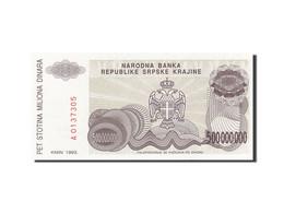 Croatie, 500 Million Dinara, 1993, 1993, KM:R26a, SPL - Croatia