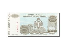 Croatie, 100 Million Dinara, 1993, 1993, KM:R25a, NEUF - Croatia