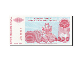 Croatie, 10 Milliard Dinara, 1993, 1993, KM:R28a, NEUF - Croatie
