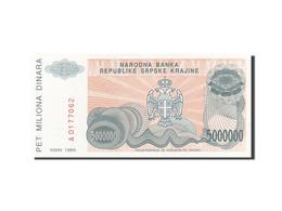 Croatie, 5 Million Dinara, 1993, 1993, KM:R24a, SPL - Croatia