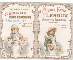 Petit Calendrier CHICOREE LEROUX    Année 1976 - Calendarios