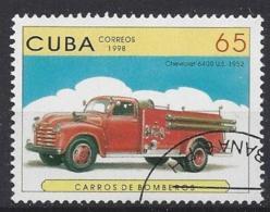 Cuba  1998  Fire Engines (o) - Cuba