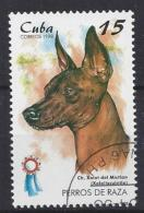 Cuba  1998  Champion Dogs (o) Mexican Naked Hound - Cuba