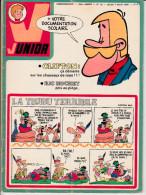 Bob Morane LES SEPT CROIX DE PLOMB Dans Magazine Junior N°32  23è Année 7 Août 1975 - Riviste E Periodici