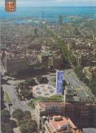 BARCELONA PLACE CATALUFIA VUE AERIENNE - Barcelona