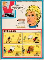 Bob Morane LES SEPT CROIX DE PLOMB Dans Magazine Junior N°35  23è Année 28 Août 1975 - Riviste E Periodici