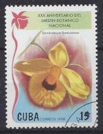 Cuba  1998  Garden Orchids (o) - Cuba