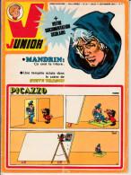 Bob Morane LES SEPT CROIX DE PLOMB Dans Magazine Junior N°37  23è Année 11 Septembre 1975 - Riviste E Periodici