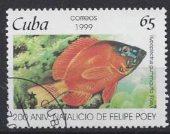 Cuba  1999  Felipe Poey: Fish  (o) - Cuba