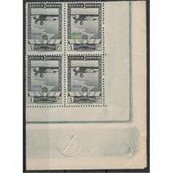 ES453STV-LFT***453STESAE.Spain.Esgane.AVION,AEREO.PRO EXPOSICION SEVILLA BARCELONA.1929 (Ed 453**) - Nuevos & Fijasellos