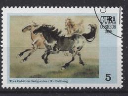 Cuba  1999  Chinese Paintings  (o) - Cuba