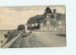 LES ROSIERS : Vue Des Bords De La Loire Et La Levée.. 2 Scans. Edition Laroate - Frankreich