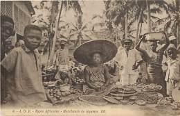 Pays Div- Centrafrique  - Ref F978 - Types Africains - Marchande De Legumes - Carte Bon Etat  - - Centrafricaine (République)